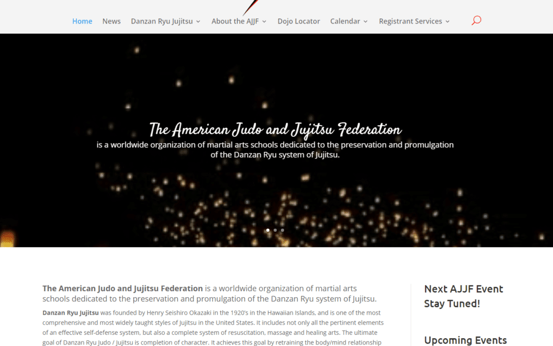 The New AJJF Website is Here!
