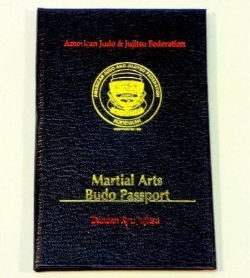 AJJF Budo Passport
