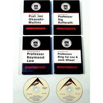 Complete Set of Interviews & Black Belt Weekend 1977 6- Disk Set