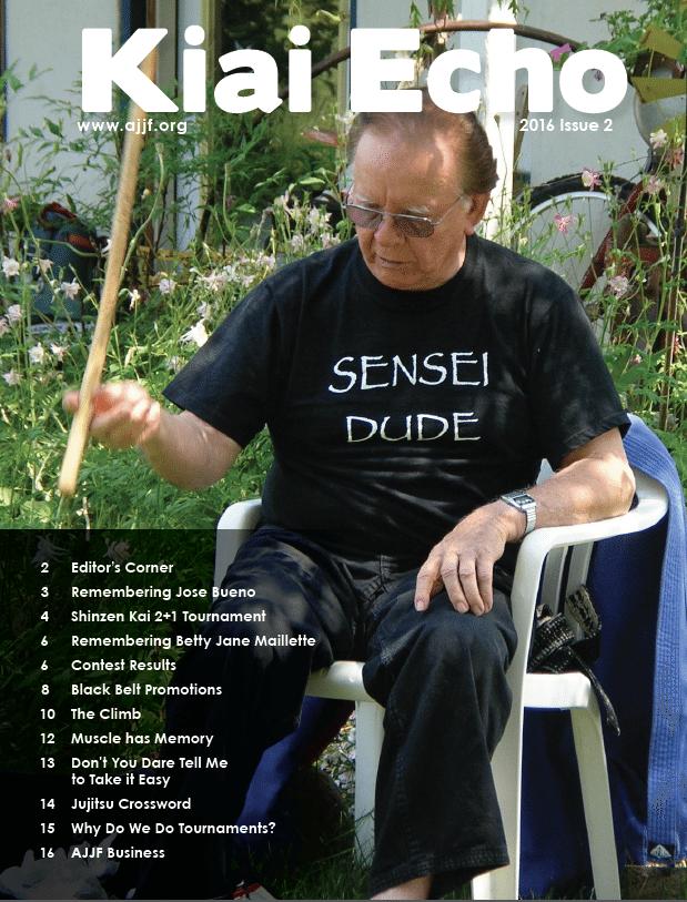 COver of Kiai Echo 2016 Issue 2