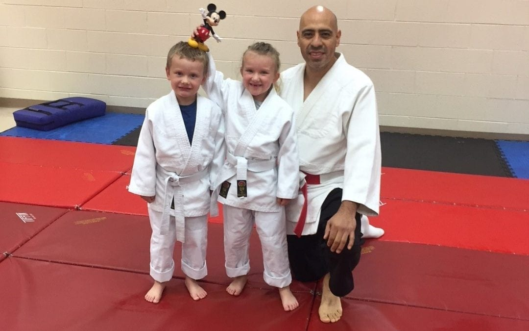 A Family Discovers Danzan Ryu – by Tim DeLathouwer