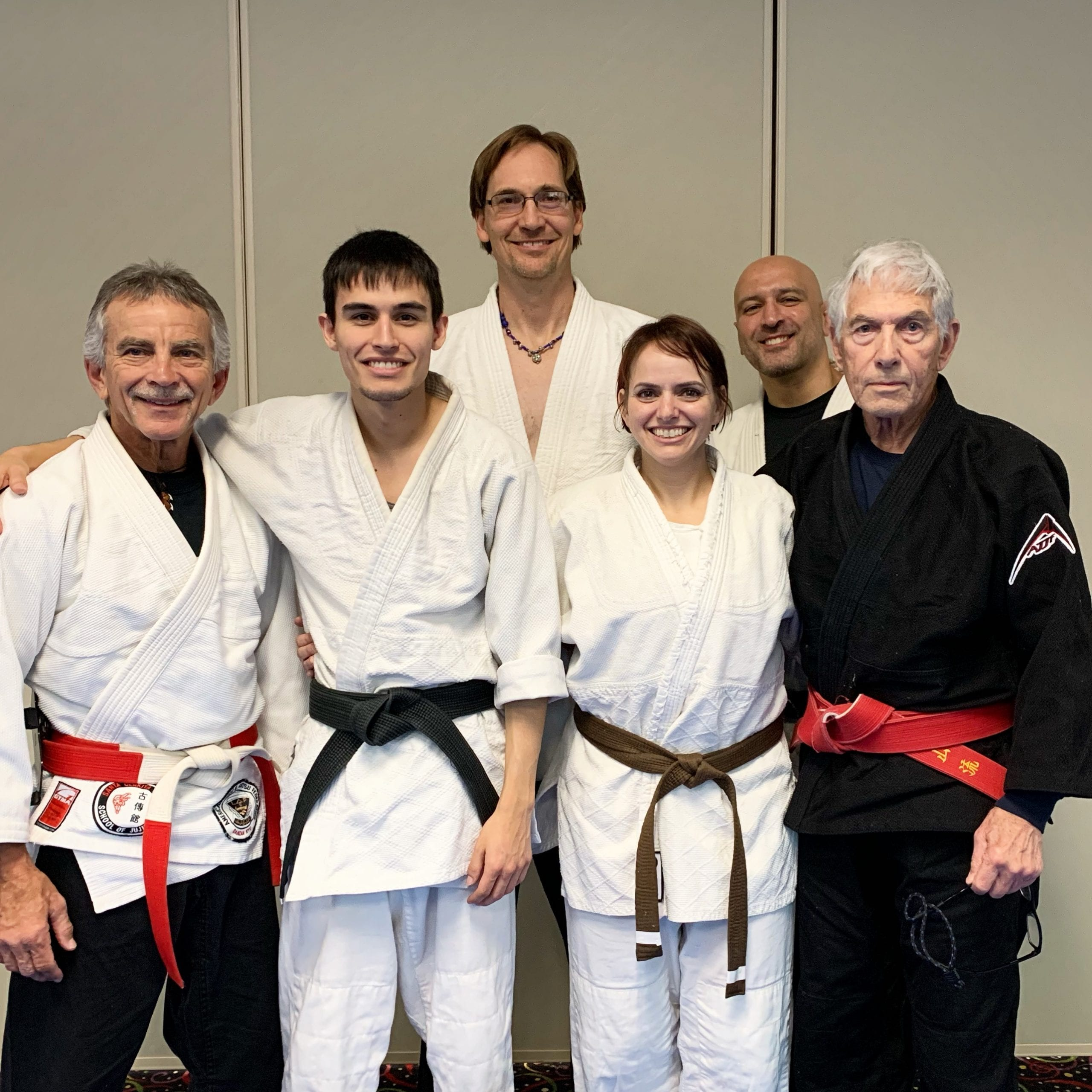 Dolly Wyatt Shodan. Dec 6, 2019. Examiners: Senior Prof Tom Ball, Prof Kevin Colton, Sensei Keith Thompson. Uke Zachary Chiara.