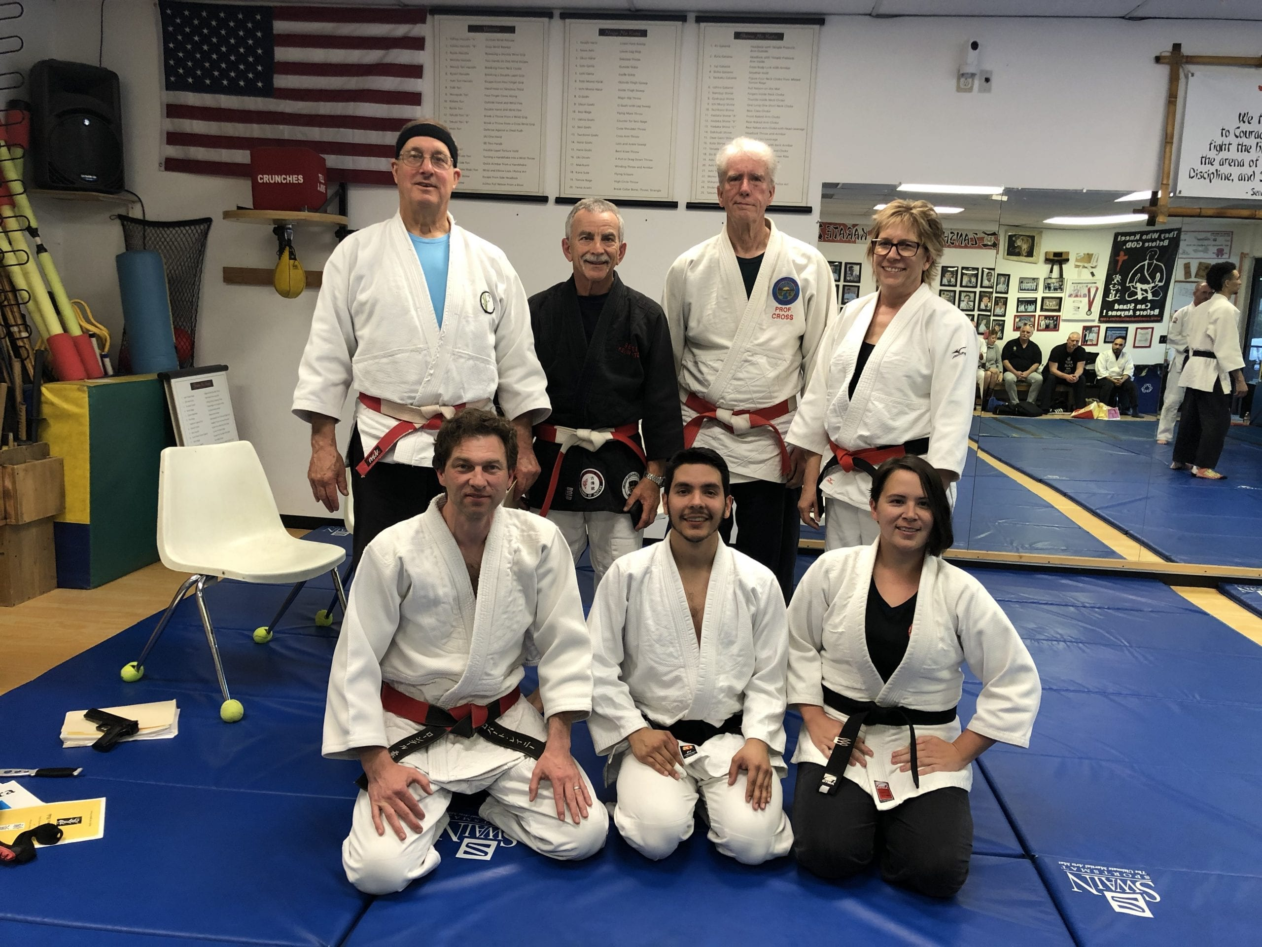 Black Belt Exam Photo